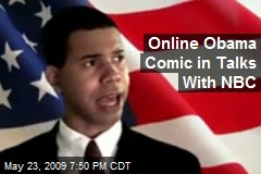 Online Obama Comic in Talks With NBC