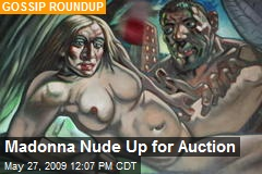 Madonna Nude Up for Auction