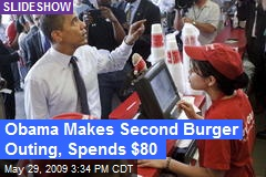 Obama Makes Second Burger Outing, Spends $80