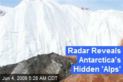 Radar Reveals Antarctica's Hidden 'Alps'