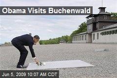 Obama Visits Buchenwald