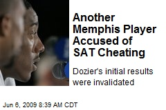 Another Memphis Player Accused of SAT Cheating