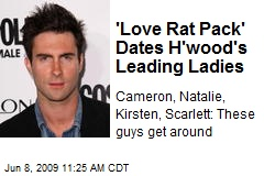 'Love Rat Pack' Dates H'wood's Leading Ladies