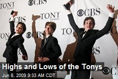 Highs and Lows of the Tonys