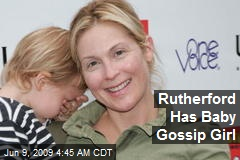 Rutherford Has Baby Gossip Girl