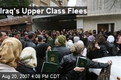 Iraq's Upper Class Flees
