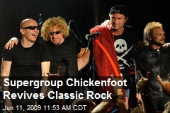 Supergroup Chickenfoot Revives Classic Rock