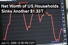 Net Worth of US Households Sinks Another $1.33T