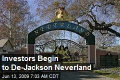 Investors Begin to De-Jackson Neverland