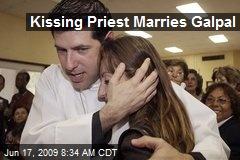Kissing Priest Marries Galpal