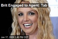 Brit Engaged to Agent: Tab