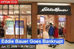 Eddie Bauer Goes Bankrupt