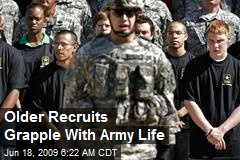 Older Recruits Grapple With Army Life