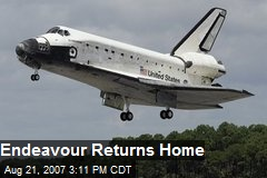 Endeavour Returns Home