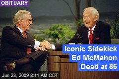 Iconic Sidekick Ed McMahon Dead at 86