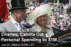 Charles, Camilla Cut Personal Spending by $1M