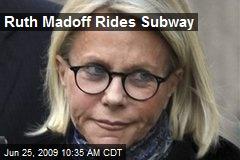 Ruth Madoff Rides Subway