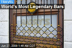 World's Most Legendary Bars