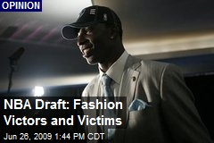 NBA Draft: Fashion Victors and Victims