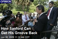 How Sanford Can Get His Groove Back