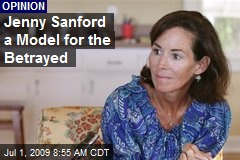 Jenny Sanford a Model for the Betrayed