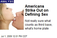 Americans Strike Out on Defining Sex