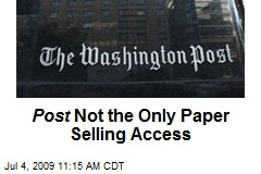 Post Not the Only Paper Selling Access
