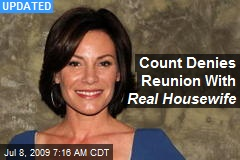 Count Denies Reunion With Real Housewife