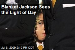 Blanket Jackson Sees the Light of Day