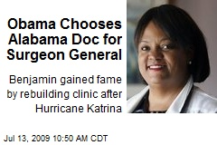 Obama Chooses Alabama Doc for Surgeon General