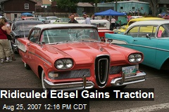 Ridiculed Edsel Gains Traction