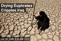 Drying Euphrates Cripples Iraq