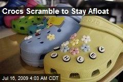 Crocs Scramble to Stay Afloat