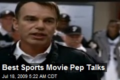 Best Sports Movie Pep Talks