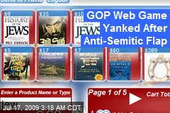 GOP Web Game Yanked After Anti-Semitic Flap