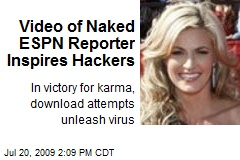 Video of Naked ESPN Reporter Inspires Hackers
