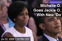 Michelle O. Goes Jackie O. With New 'Do