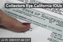 Collectors Eye California IOUs