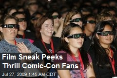Film Sneak Peeks Thrill Comic-Con Fans