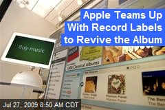 Apple Teams Up With Record Labels to Revive the Album