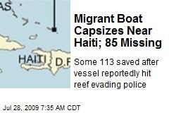Migrant Boat Capsizes Near Haiti; 85 Missing