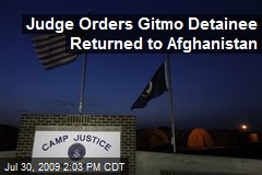 Judge Orders Gitmo Detainee Returned to Afghanistan