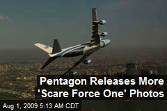 Pentagon Releases More 'Scare Force One' Photos