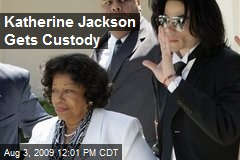 Katherine Jackson Gets Custody
