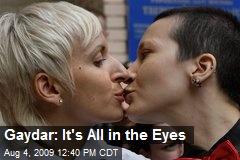 Gaydar: It's All in the Eyes