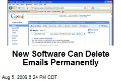 New Software Can Delete Emails Permanently