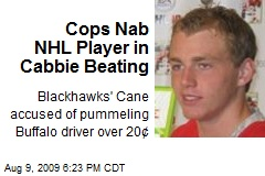 Cops Nab NHL Player in Cabbie Beating