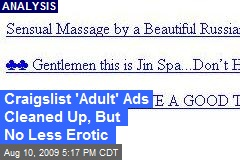 Craigslist 'Adult' Ads Cleaned Up, But No Less Erotic