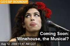Coming Soon: Winehouse, the Musical?