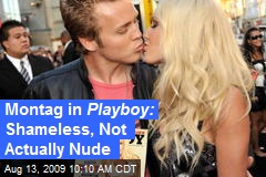 Montag in Playboy: Shameless, Not Actually Nude